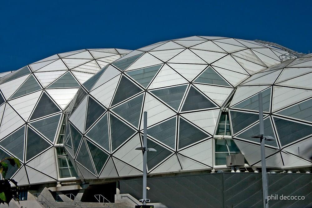 Soccer Stadium by phil decocco