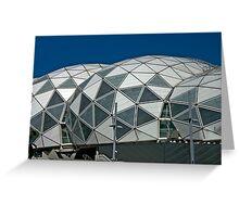 Soccer Stadium Greeting Card