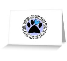 Animal Adoption Cards  Greeting Card