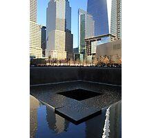 911 Memorial Photographic Print