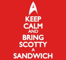 Bring Scotty a Sandwich by ay-zup