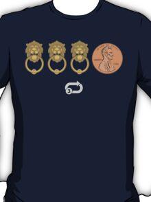 Knock Knock Knock Penny^3 T-Shirt