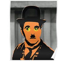 Charles Chaplin Charlot in The Great Dictator Poster
