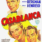 Argentinian poster of Casablanca by Art Cinema Gallery