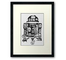 R2-D2 Framed Print