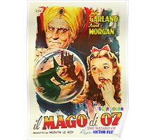 Italian poster of The Wizard of Oz Poster