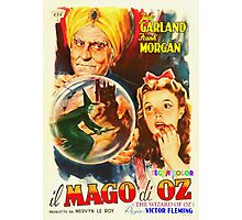 Italian poster of The Wizard of Oz Photographic Print