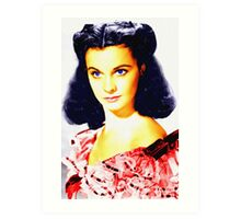 Vivien Leigh in Gone with the Wind Art Print