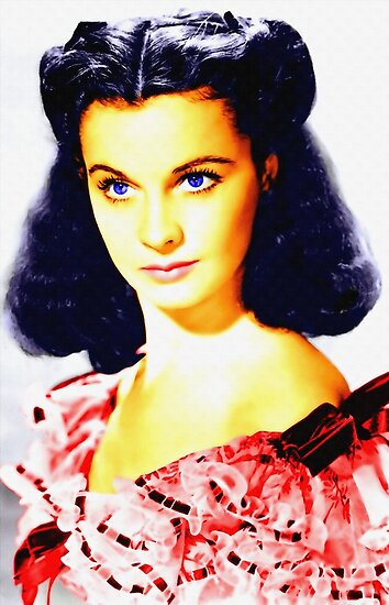 Vivien Leigh in Gone with the Wind by Art Cinema Gallery