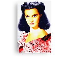 Vivien Leigh in Gone with the Wind Canvas Print