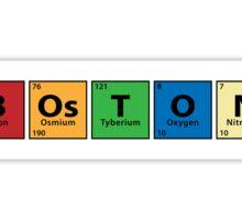 B.Os.T.O.N. Sticker