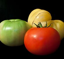 Tomato Trio by Samantha Wong
