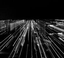 Skyline, Black & white by mattijs