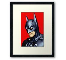 George Clooney in Batman & Robin Framed Print