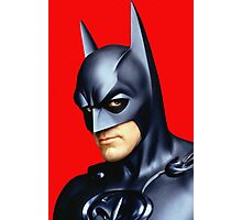 George Clooney in Batman & Robin Photographic Print
