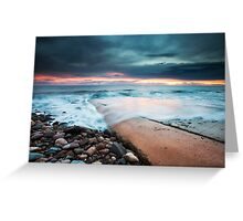 Marino Rocks Boat Ramp Greeting Card