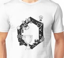 Mario Kart Block and White Unisex T-Shirt