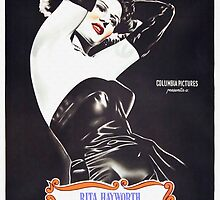 Argentinian poster of Gilda by Art Cinema Gallery