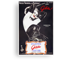Argentinian poster of Gilda Canvas Print
