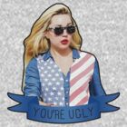 Amanda Bynes - You're Ugly Ribbon by hunnydoll