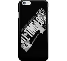 Somewhere In Neverland (All Time Low) iPhone Case/Skin