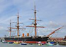 HMS Warrior by Steve Randall
