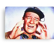 John Wayne in Hatari! Canvas Print