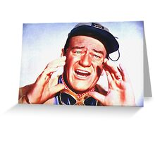 John Wayne in Hatari! Greeting Card