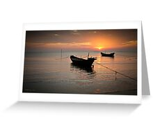 Ha Tien Sunset Greeting Card