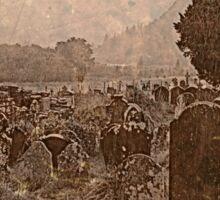 Irish Graveyard (O0415ig) Sticker