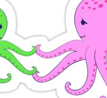 Octopuses. I love my mom. Sticker