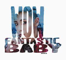 BIGBANG Wow Fantastic Baby T.O.P Big Bang Baby Tee
