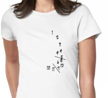 Will's Clock Womens Fitted T-Shirt