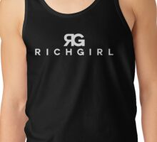 "Paris Hilton ""Rich Girl"" Art Tank Top"