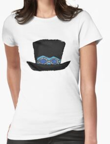 Sabo's hat paint Womens Fitted T-Shirt