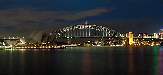 Sydney Harbour by Steve Bass