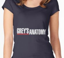 Grey`s Anatomy Women's Fitted Scoop T-Shirt