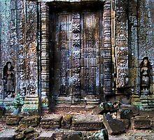 Ancient Temple Blind Doors by Artur Bogacki