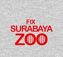 Fix Surabaya Zoo 2 Womens Fitted T-Shirt