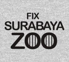 Fix Surabaya Zoo One Piece - Long Sleeve