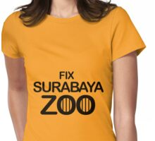 Fix Surabaya Zoo Womens Fitted T-Shirt