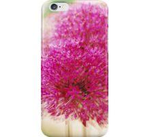 Garlic in Action (vertical) iPhone Case/Skin
