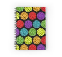 yarn me baby Spiral Notebook