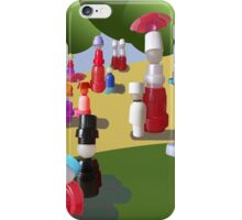 A Sunday Afternoon on the Island of La grande Jatte iPhone Case/Skin
