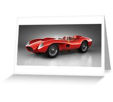 Ferrari 250 Testa Rossa - Spirit Greeting Card