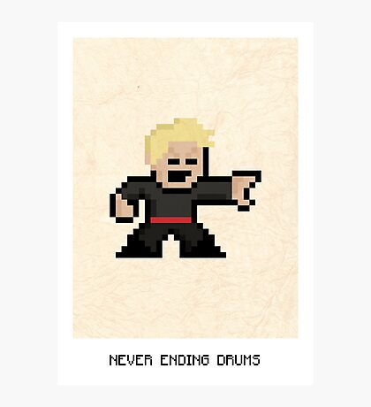 Never Ending Drums Photographic Print