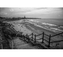 Cullercoats Beach Photographic Print