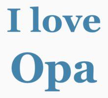 I Love Opa Kids Tee