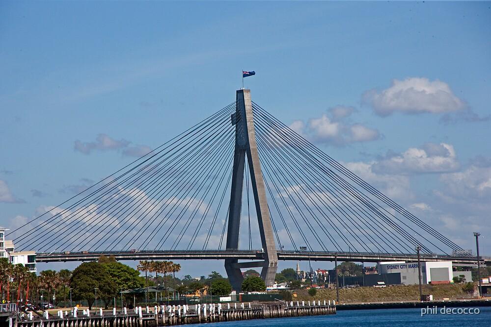 Suspension Bridge by phil decocco