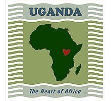 Uganda Heart of Africa Photographic Print